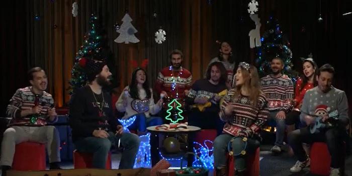 Anadolu Efes çalışanlarından yeni yıl şarkısı