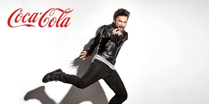 Megastar Tarkan Coca-Cola'nın reklam yüzü oldu