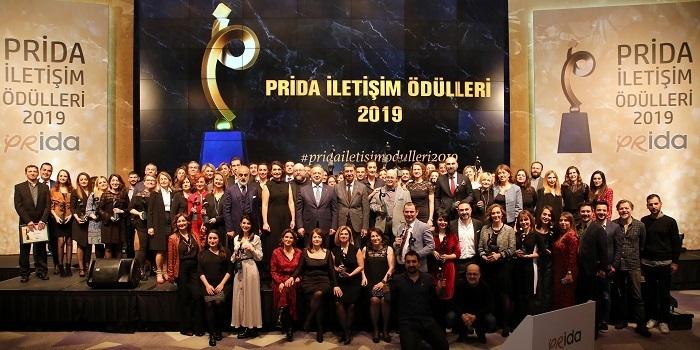 PRİDA İletişim Ödülleri sahiplerine kavuştu