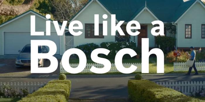 Bosch'tan yepyeni kampanya: #LikeABosch