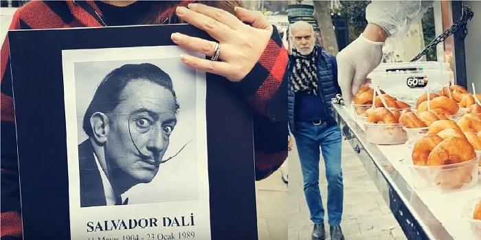 Bir reklam ajansı Dali'nin 30'uncu ölüm yıldönümü için neden lokma döktürür?