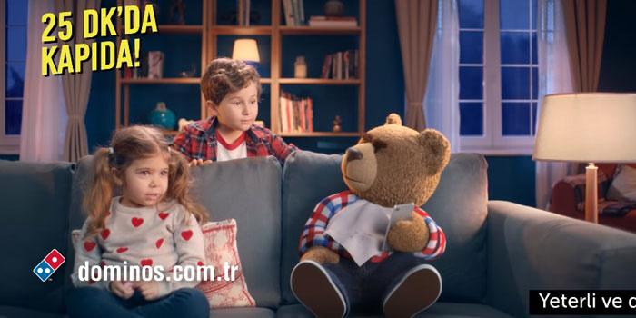 """Domino's yeni reklamında """"Sıcak Takip Sistemi""""ni tanıtıyor"""