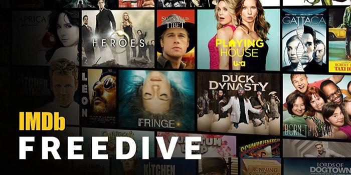 IMDb'den yeni film ve dizi platformu: IMDb Freedive
