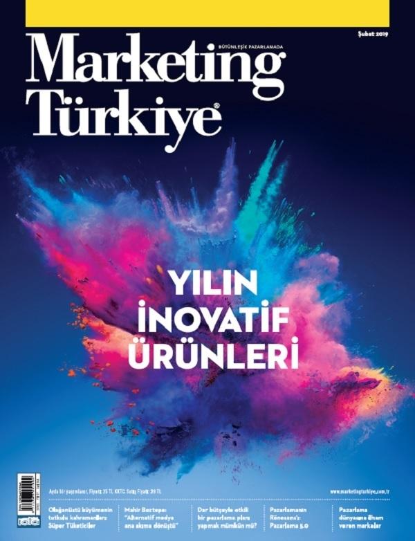 Yılın İnovatif Ürünleri Marketing Türkiye Şubat Sayısında!