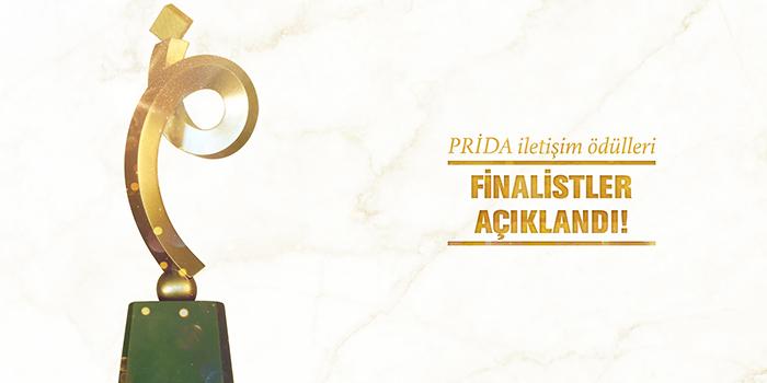 PRİDA İletişim Ödülleri'nde finale kalan projeler açıklandı