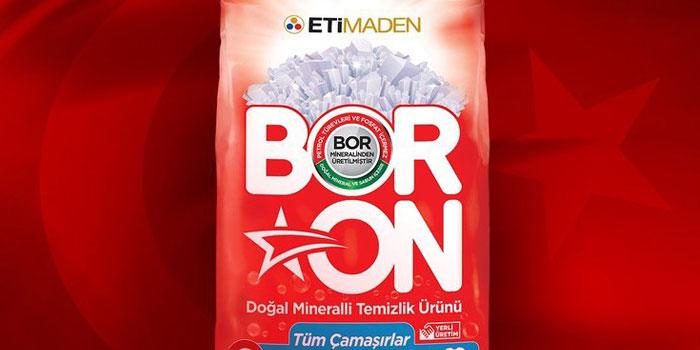 Yerli ve milli temizlik ürünü BORON'a ilgi büyük
