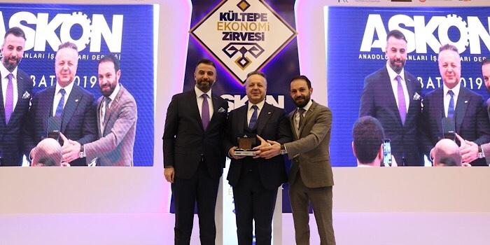 """Türkiye ve dünya ekonomisindeki gelişmeler """"ASKON, 2. Yerli ve Milli Kültepe Ekonomi Zirvesi""""nde değerlendirildi"""