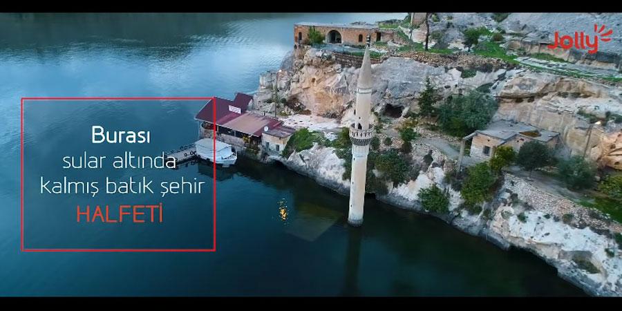 Jolly yeni kampanyasında Türkiye'nin kültürel değerlerine dikkat çekiyor