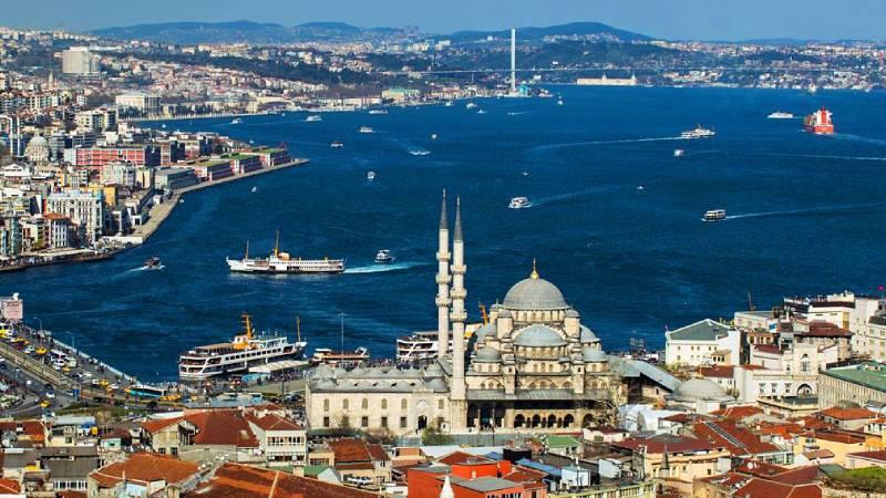İstanbul dünyanın en çok ziyaret edilen 11'inci şehri...