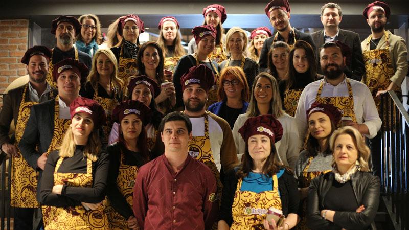 Kahve Dünyası'nın lezzetleri C Level Club'da katılımcılarla buluştu