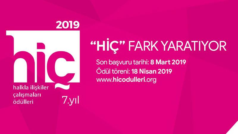HİÇ Ödülleri başvuruları 8 Mart'a kadar uzatıldı