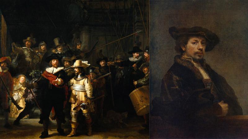 Işığın ve gölgelerin ressamı Rembrandt'ın sesi 350 yıl sonra hayat buldu