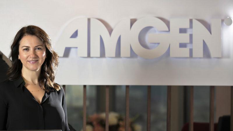 Amgen Türkiye'ye yeni İnsan Kaynakları Direktörü