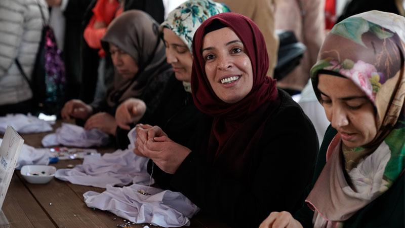 El Emeği Projesi 6 bin 500 kadına 2 milyon TL gelir...
