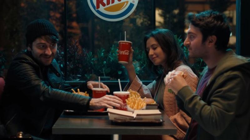 """Coca-Cola artık Burger King'de"""