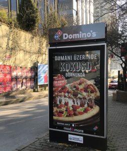 Yürürken burnunuza enfes bir pizza kokusu gelse, ne yapardınız?
