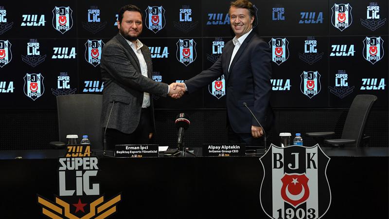 Beşiktaş JK ve InGame iş birliğiyle BJK Zula takımı kuruldu