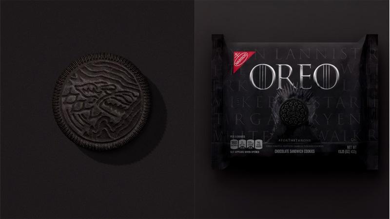 Game Of Thrones dünyası OREO'larla baştan kuruldu