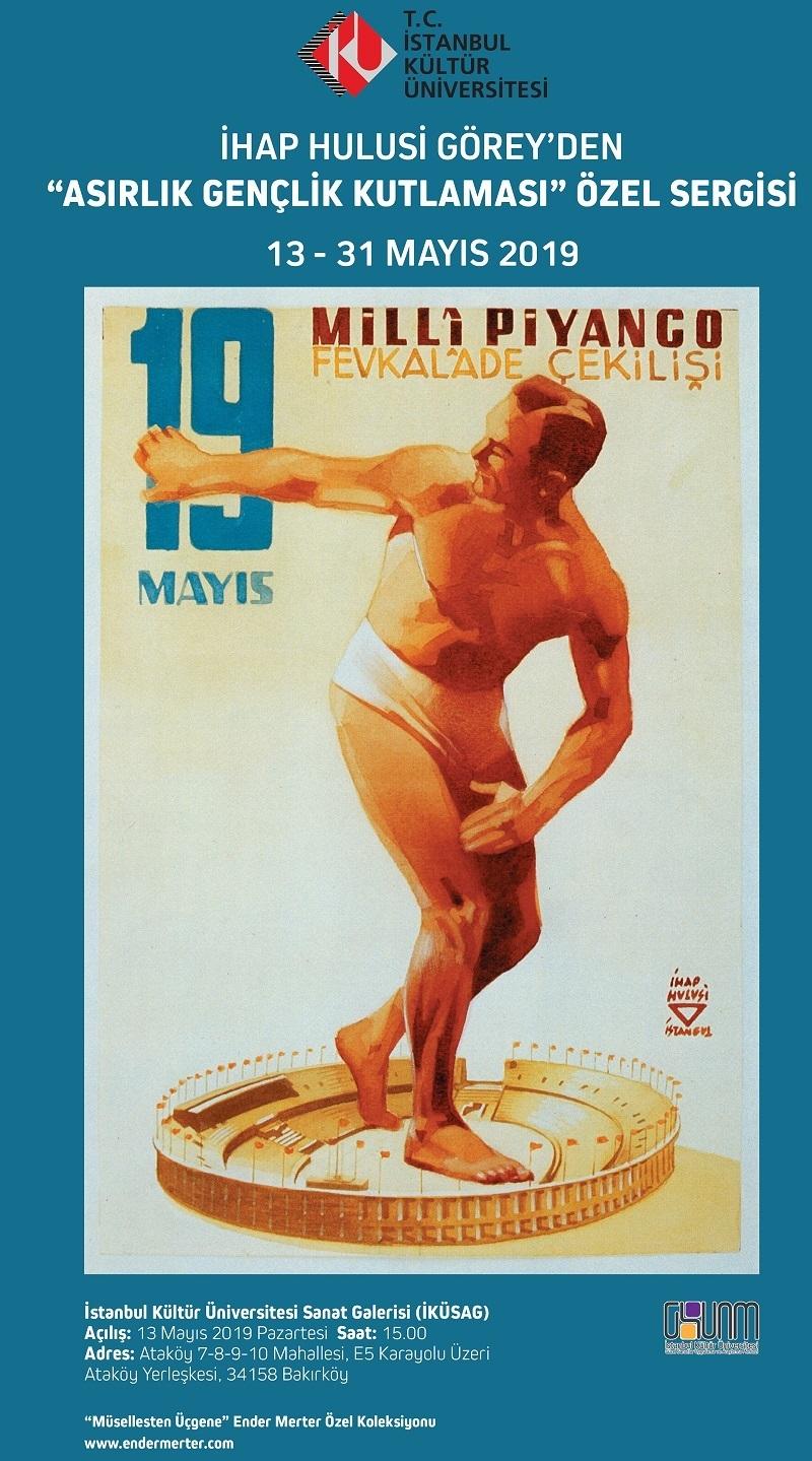 Türk afiş ve grafik sanatının öncüsü İhap Hulusi Görey özel sergisi