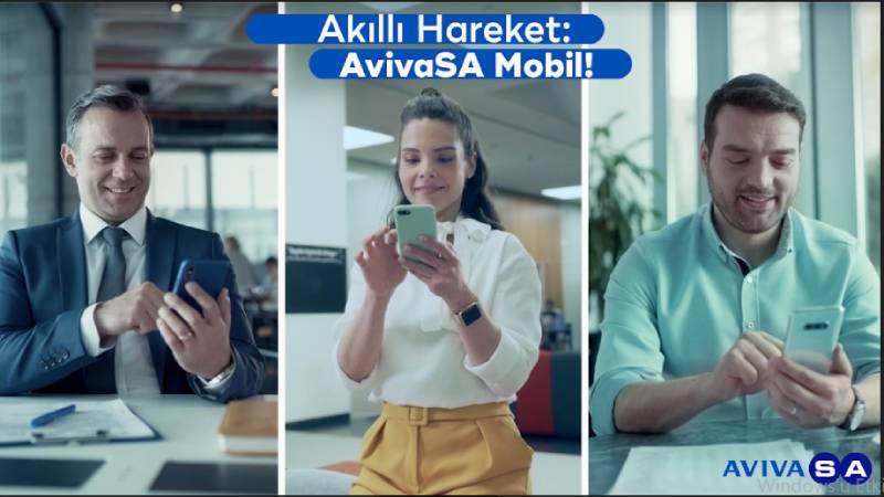 """AvivaSA'dan """"Akıllı Hareket"""" AvivaSA Mobil reklamı"""