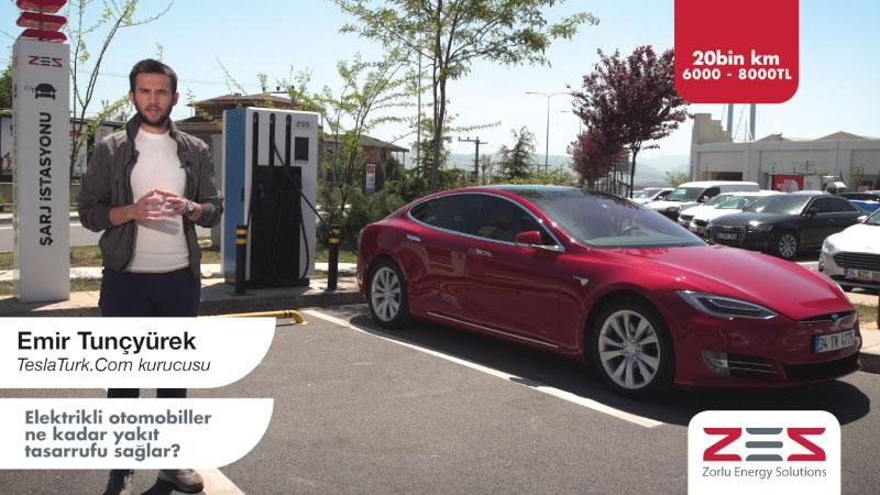 Zorlu Enerji elektrikli araç meraklılarına data driven bir çözümle ulaşıyor