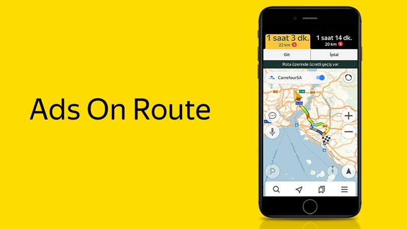 Yandex Navigasyon ve CarrefourSA'dan Türkiye'de bir ilk