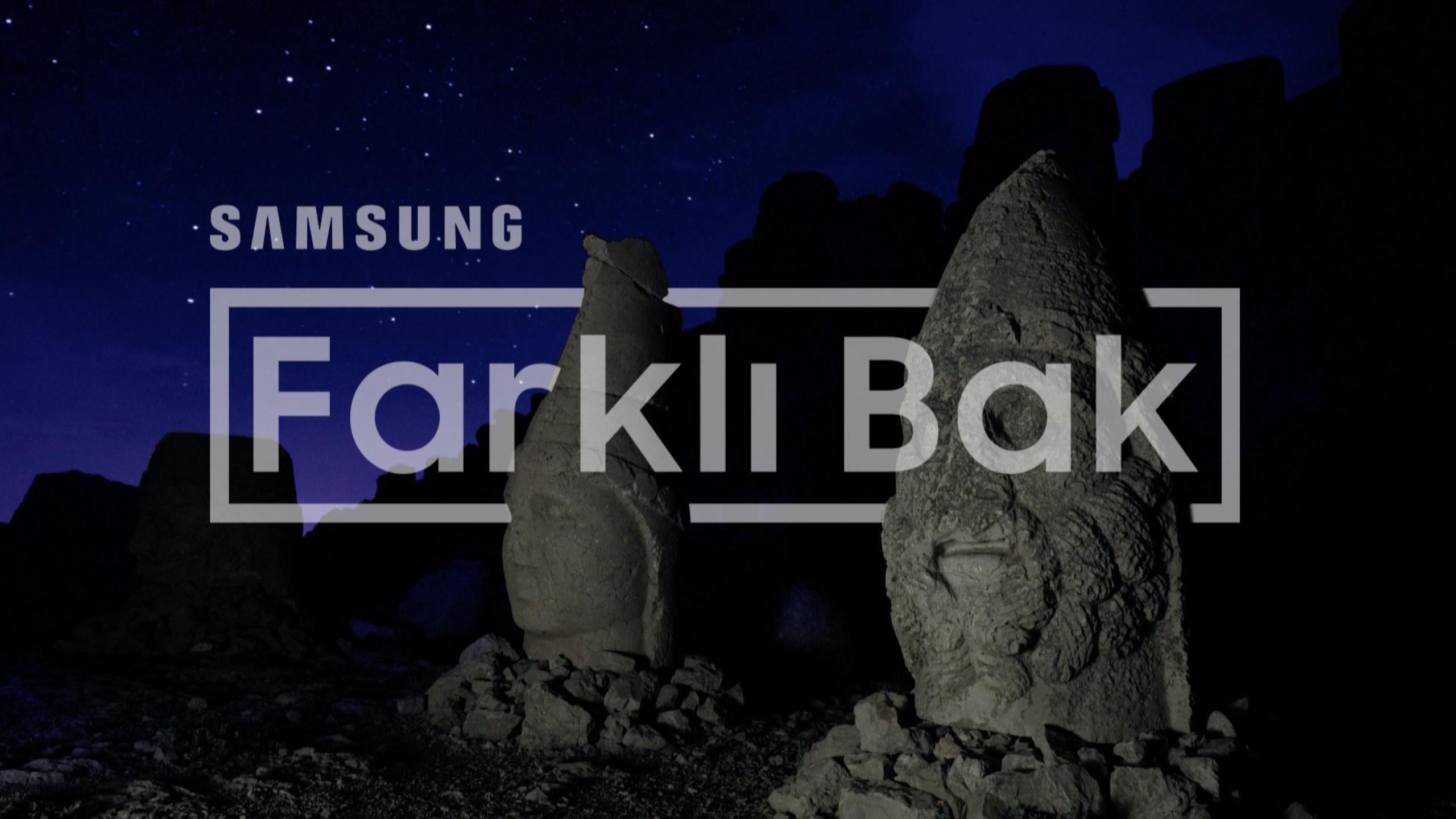 """Samsung, Galaxy A Serisi ile """"Farklı Bak"""" diyor"""