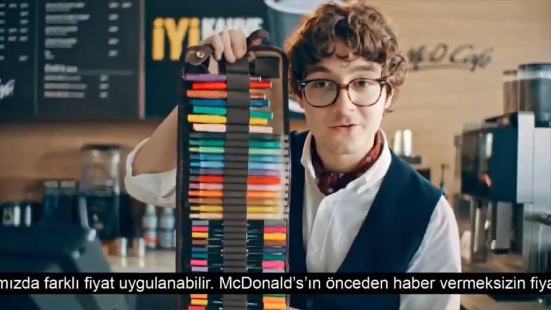 McDonald's üçüncü nesil kahve dükkanlarını tiye aldı