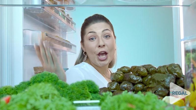 """Buzdolabında """"yeni bir yaşam yükseliyor"""""""