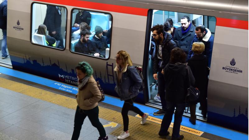 """Toplu taşımada en çok """"metro"""" arandı"""