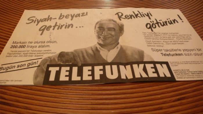 Şener Şen'in yer aldığı efsane reklamlar