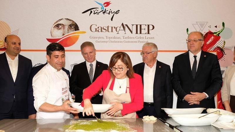 """Gastronomi dünyası """"GastroAntep""""te bir araya geliyor"""