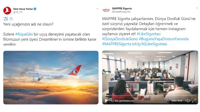 Hashtag'leriyle Twitter'da ses getiren kampanyalar
