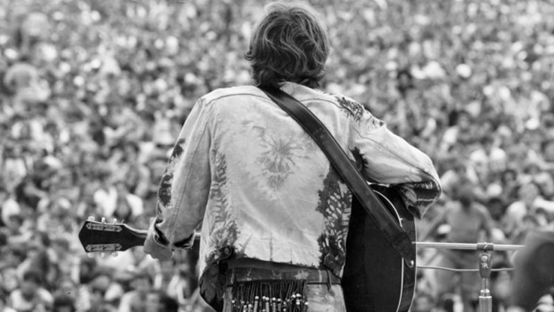 Bir rock'n roll fotoğrafçısının benzersiz Woodstock...