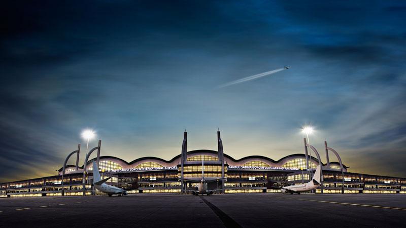 İstanbul Sabiha Gökçen Havalimanı'na Stevie'den 5 ödül