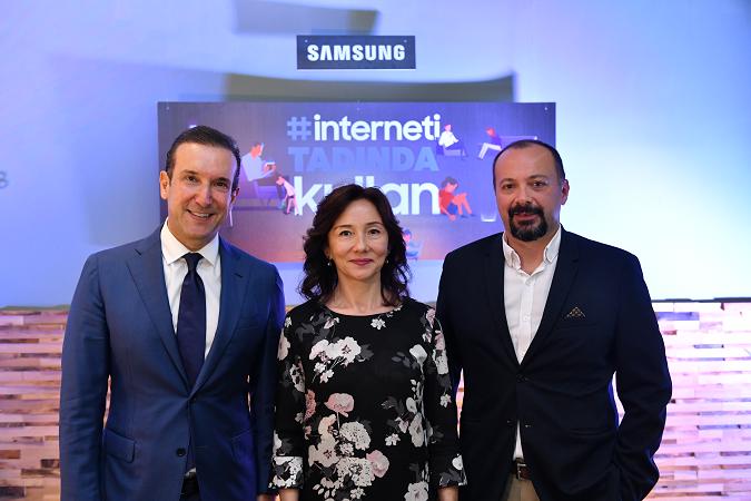"""Samsung """"İnterneti Tadında Kullan""""maya davet ediyor"""