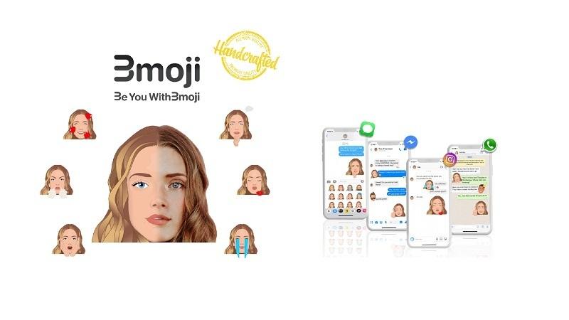 Bmoji, emoji dünyasını sanat ve teknolojiyle kişiselleştiriyor