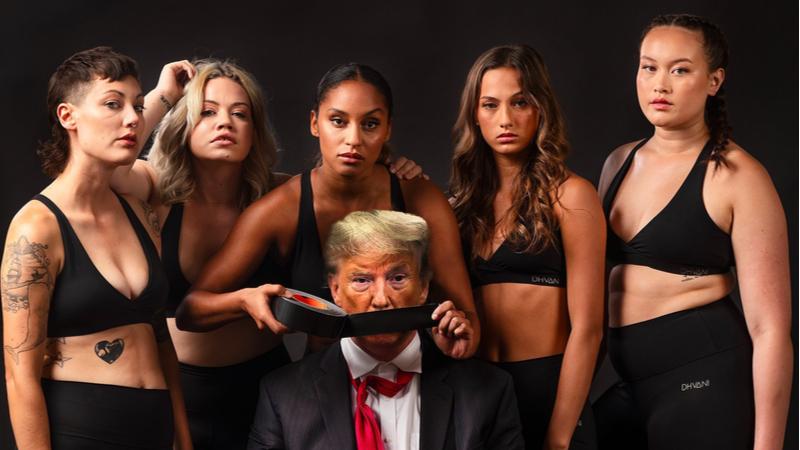 "ABD Başkanı Trump'ı ""susturma"" temalı reklam tartışma yarattı"