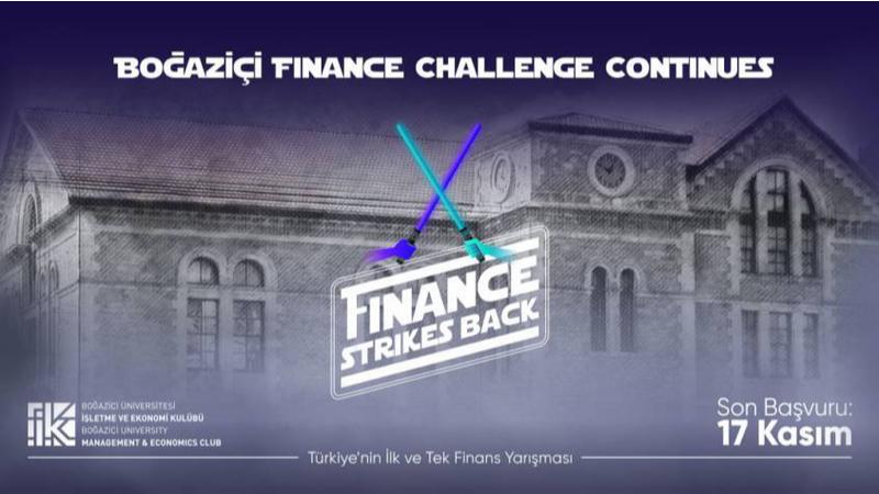 Boğaziçi Finance Challenge başvuruları başladı