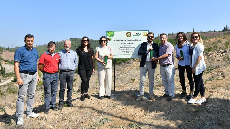 Kahve Dünyası ve TEMA Vakfı, Çanakkale'de hatıra ormanı oluşturdu