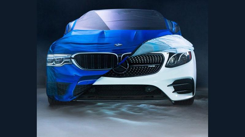 BMW'den ezeli rakibi Mercedes'e Cadılar Bayramı sürprizi