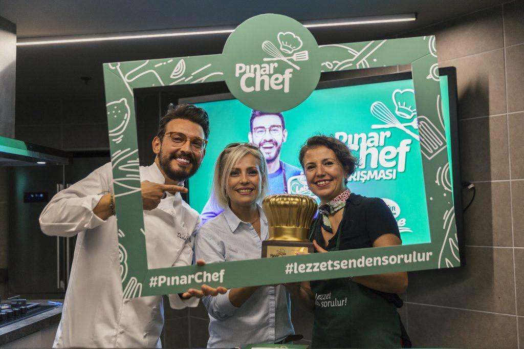Pınar Chef Yarışması'nın kazananı belli oldu