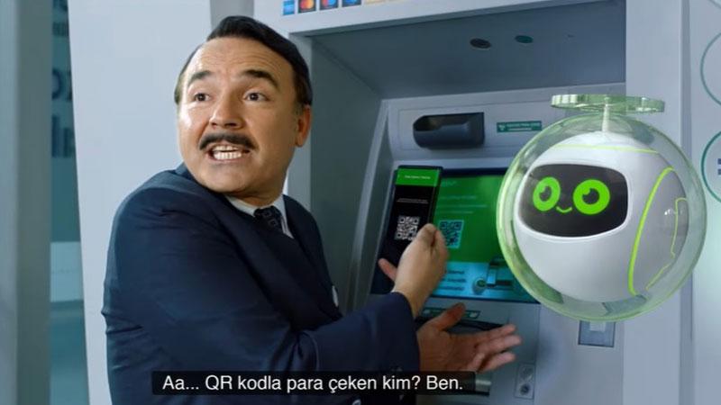 Garanti BBVA'dan QR Kod uygulamasına özel reklam filmi