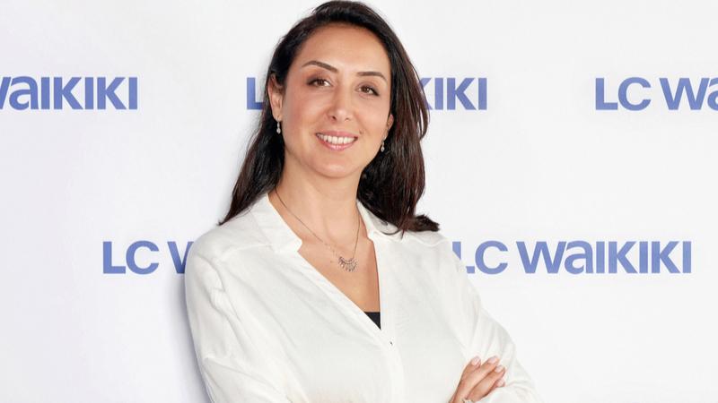 LC Waikiki Mağazacılık Genel Müdür'ü Berna Akyüz Öğüt...