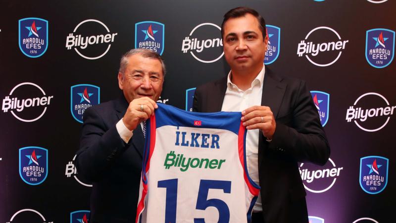 Bilyoner ile Anadolu Efes Spor Kulübü sponsorluk anlaşmasına imza attı