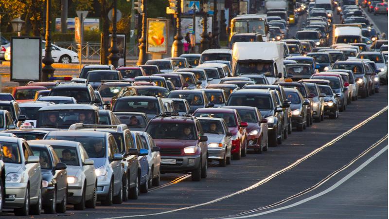 İstanbul'un günlük trafik sıkışıklığı oranı yüzde 53 oldu