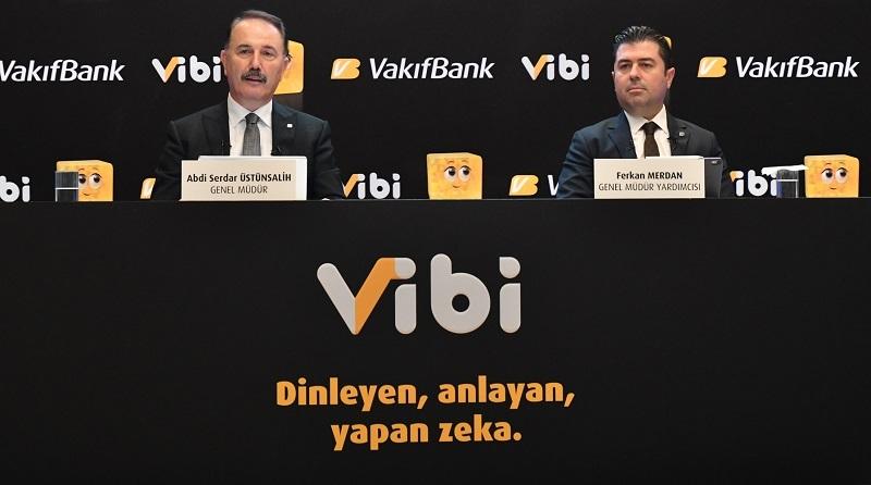 VakıfBank akıllı asistanı ViBi'yi kullanıma sundu