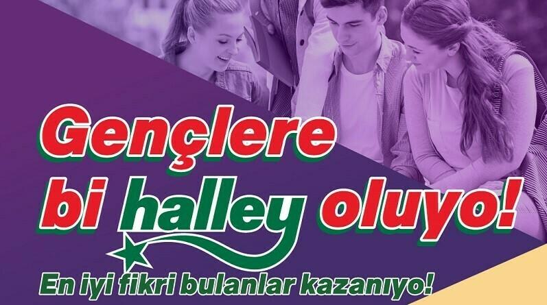 """""""bizz@kampüs""""te üniversiteliler fikirlerini """"Ülker Halley"""" için yarıştıracak"""