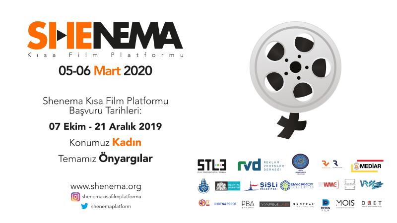Uluslararası Shenema İstanbul Kısa Film Platformu başvuruları için son beş gün