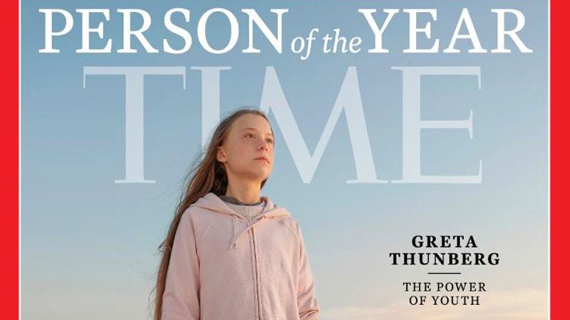 TIME, İsveçli iklim aktivisti Greta Thunberg'i yılın insanı seçti